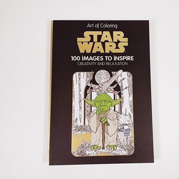 Disney Other Star Wars Coloring Book Art Of Coloring Poshmark